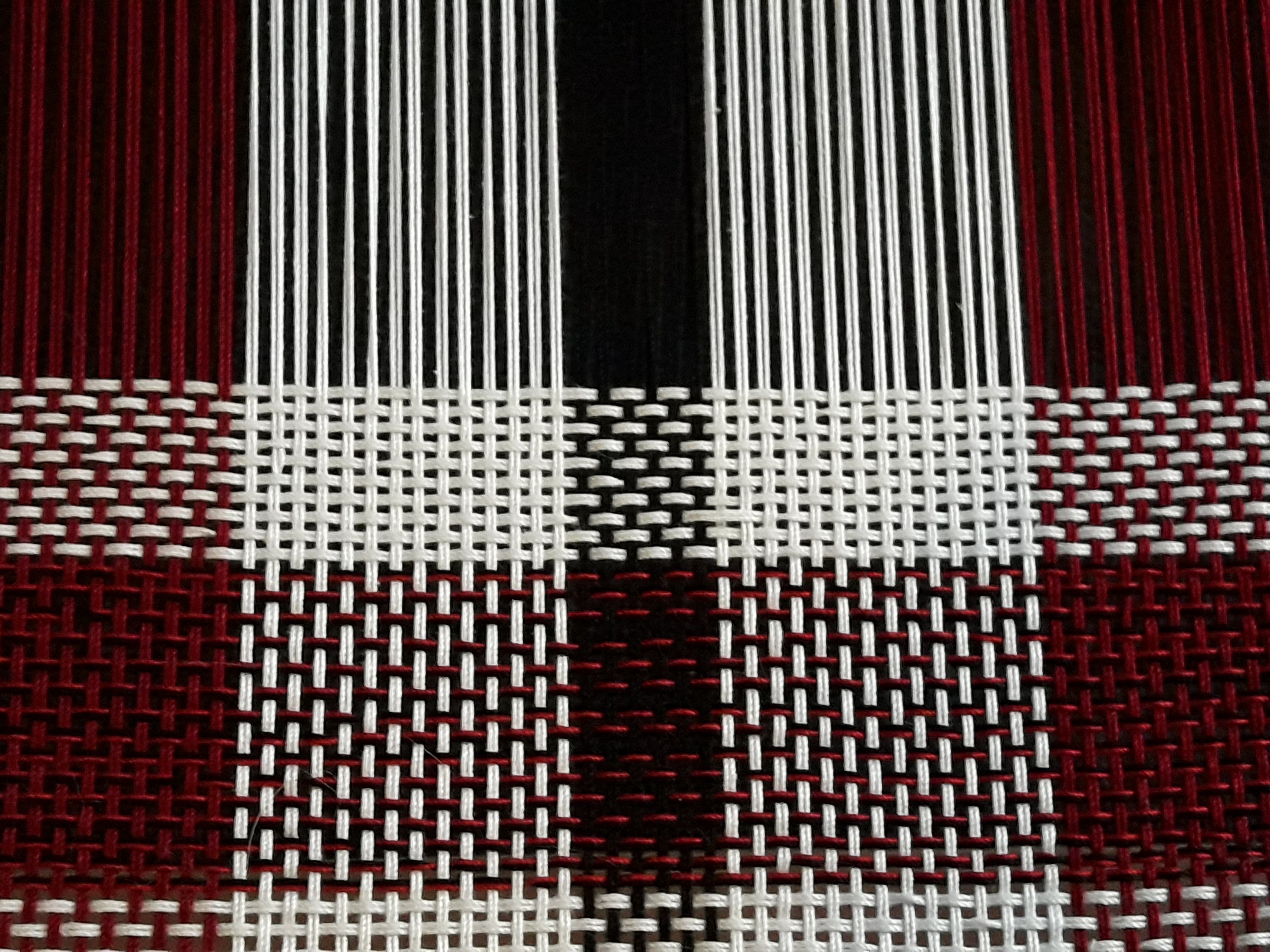 Weaving a plaid